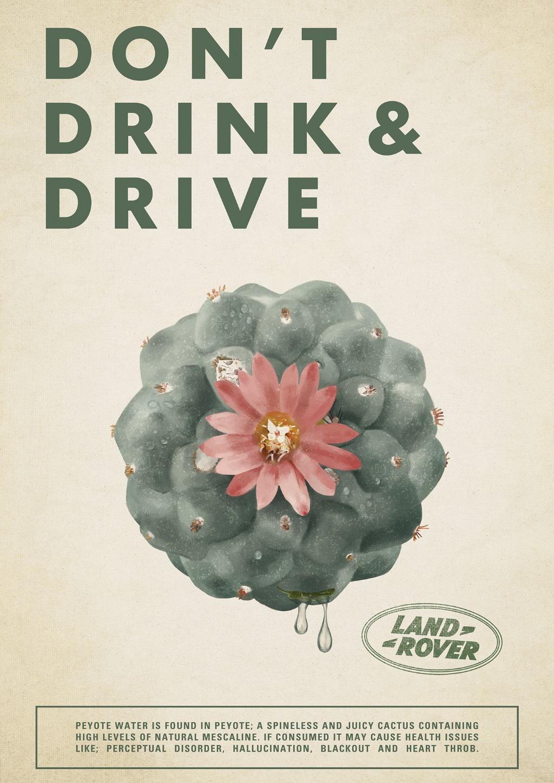 Don't Drink & Drive - Peyote