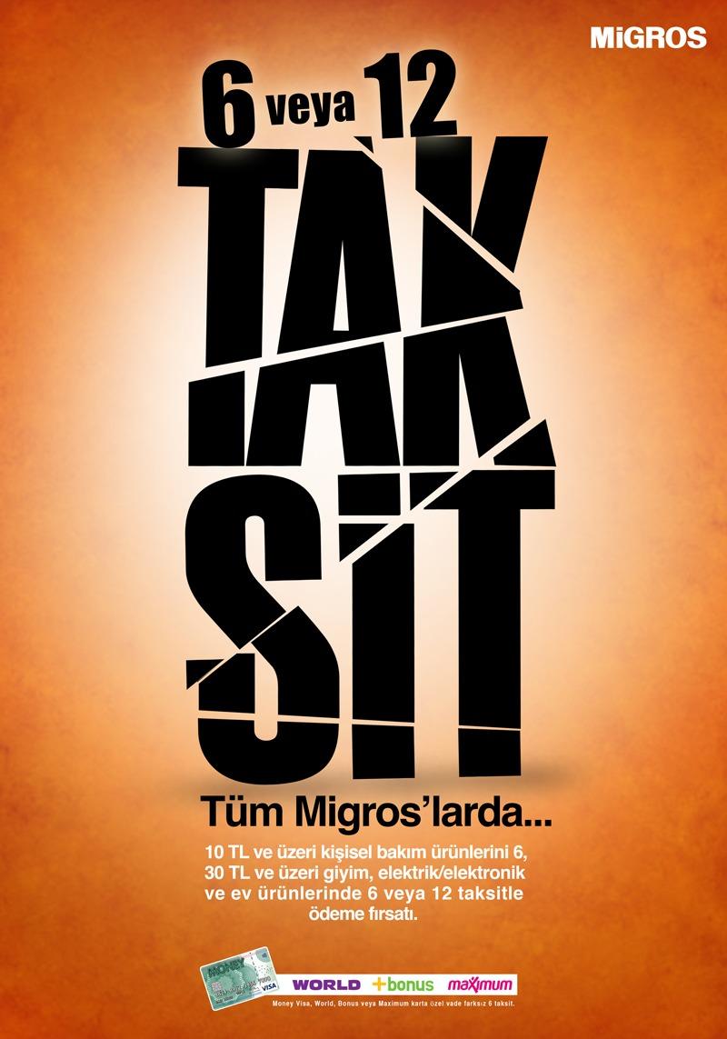 Migros Taksit Kampanyası