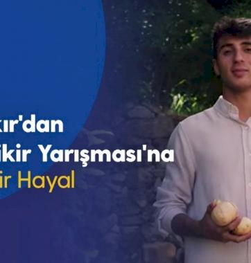 Diyarbakır'dan GNÇ Bi'Fikir Yarışması'na Uzanan Bir Hayal