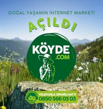 Doğal Yaşamın İnternet Marketi Açıldı