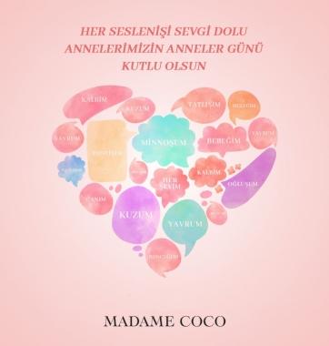 Madame Coco Anneler Günü İletişimi